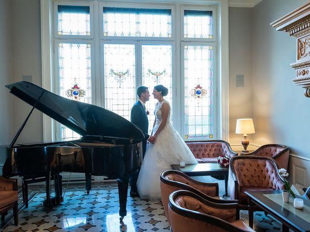 Il matrimonio di Emanuele e Monica a Luino, Varese 40