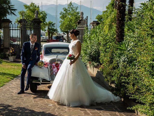 Il matrimonio di Emanuele e Monica a Luino, Varese 46
