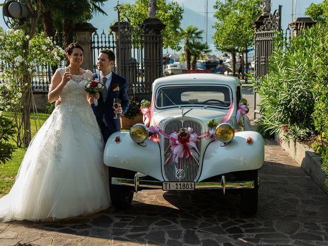Il matrimonio di Emanuele e Monica a Luino, Varese 47