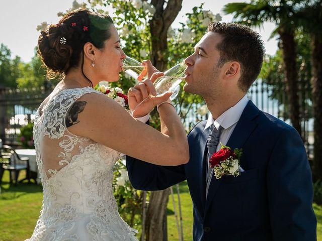 Il matrimonio di Emanuele e Monica a Luino, Varese 49