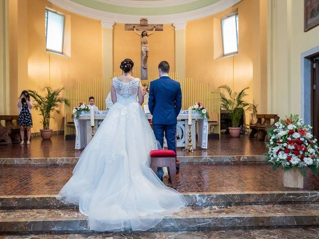 Il matrimonio di Emanuele e Monica a Luino, Varese 75