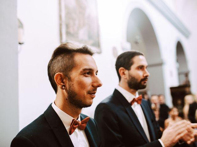 Il matrimonio di Davide e Hanna a Gradara, Pesaro - Urbino 122