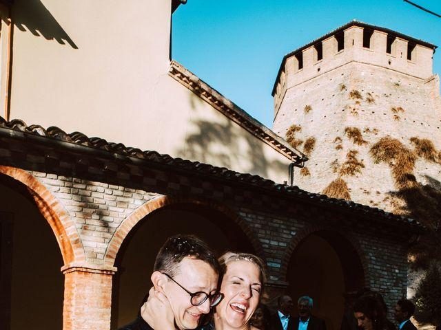 Il matrimonio di Davide e Hanna a Gradara, Pesaro - Urbino 135