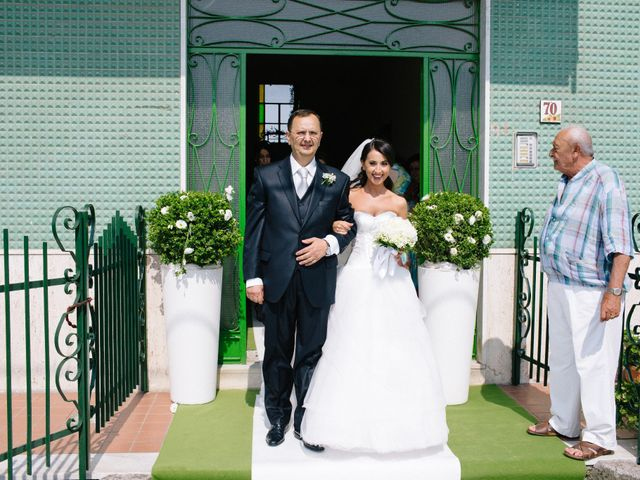 Il matrimonio di Raffaele e Maria a Pompei, Napoli 86