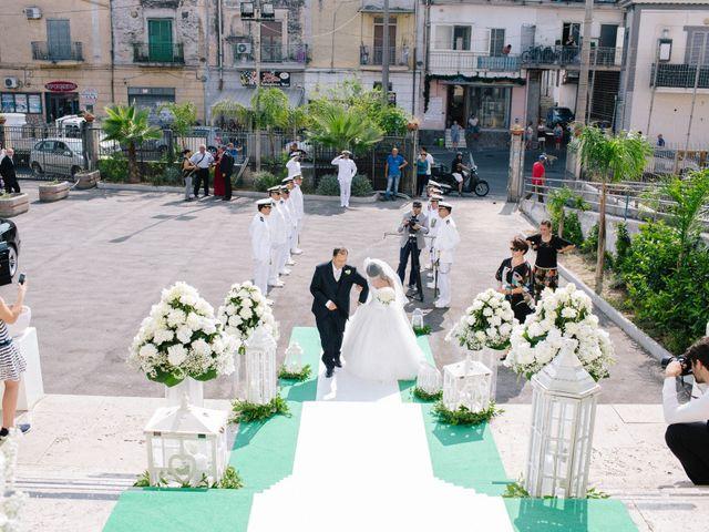 Il matrimonio di Raffaele e Maria a Pompei, Napoli 90