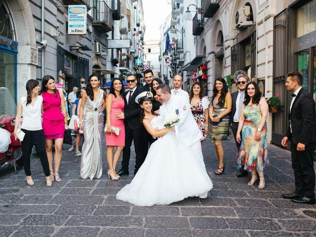 Il matrimonio di Raffaele e Maria a Pompei, Napoli 130