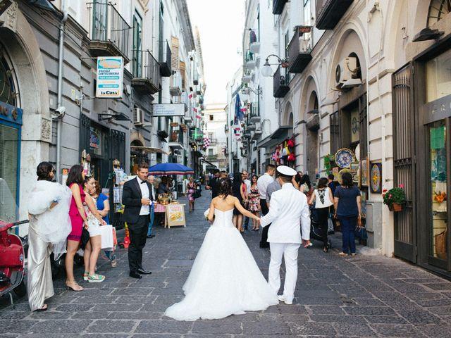Il matrimonio di Raffaele e Maria a Pompei, Napoli 133
