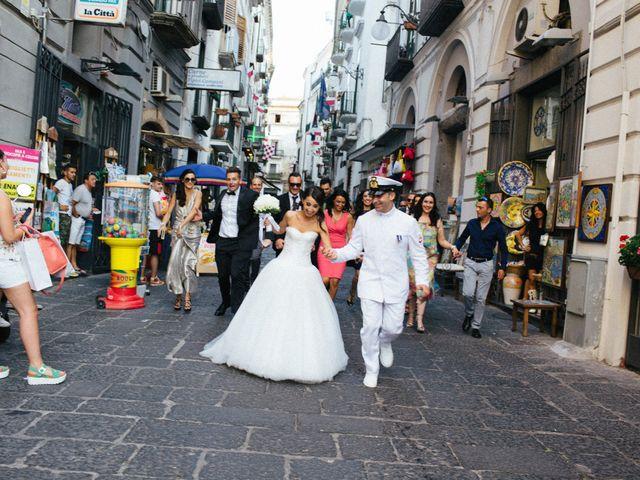 Il matrimonio di Raffaele e Maria a Pompei, Napoli 134