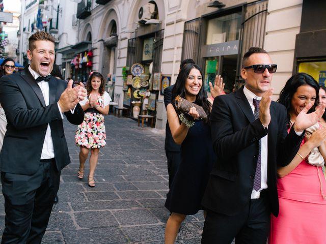 Il matrimonio di Raffaele e Maria a Pompei, Napoli 138