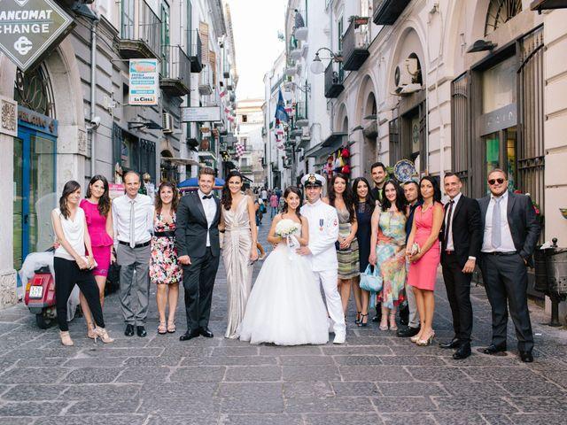 Il matrimonio di Raffaele e Maria a Pompei, Napoli 145