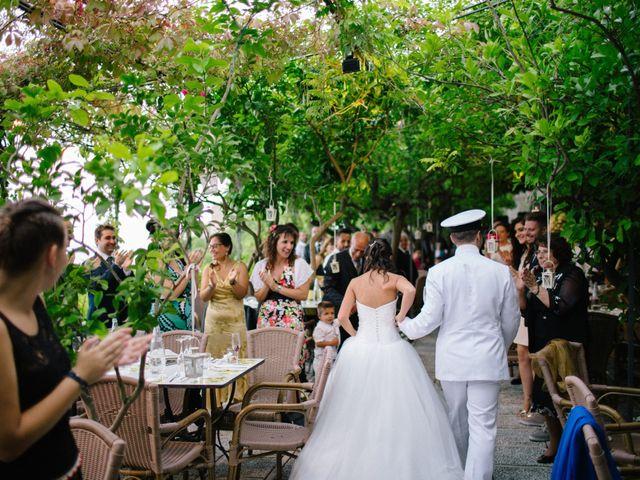 Il matrimonio di Raffaele e Maria a Pompei, Napoli 201