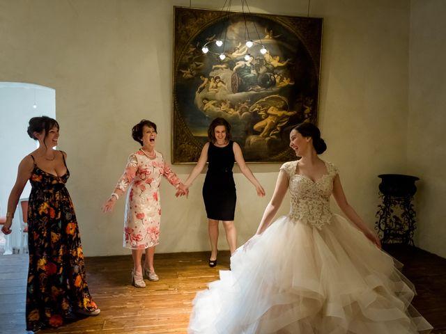 Il matrimonio di Claudio e Giulia a Bariano, Bergamo 15
