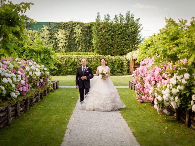 Il matrimonio di Claudio e Giulia a Bariano, Bergamo 17