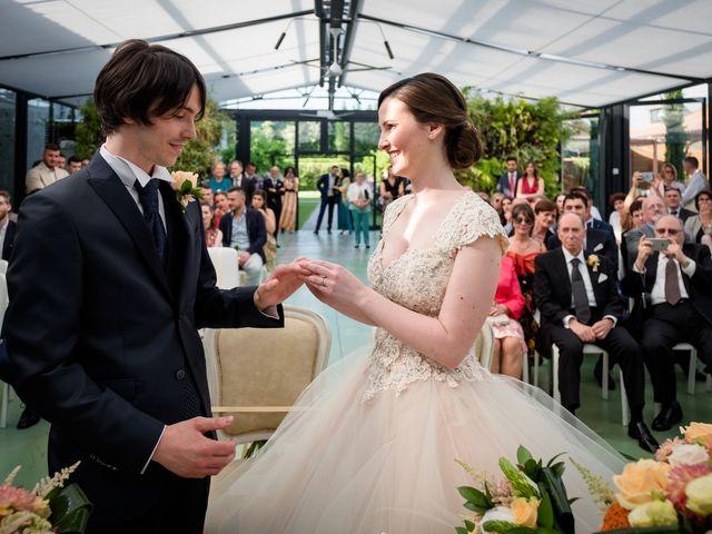 Il matrimonio di Claudio e Giulia a Bariano, Bergamo 24