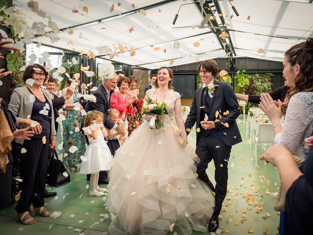 Il matrimonio di Claudio e Giulia a Bariano, Bergamo 25