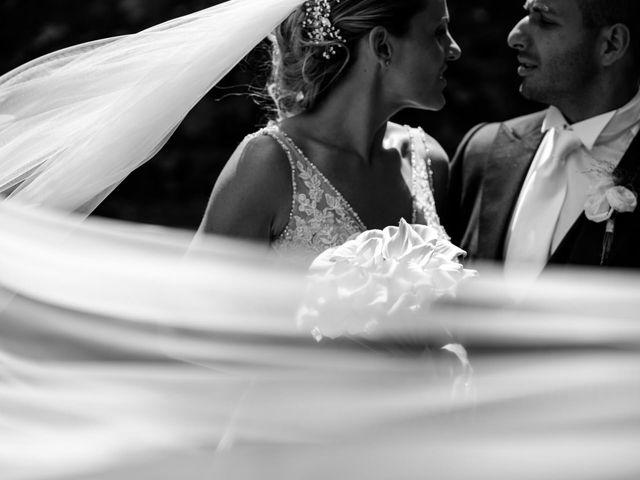 Le nozze di Alberto e Stefania