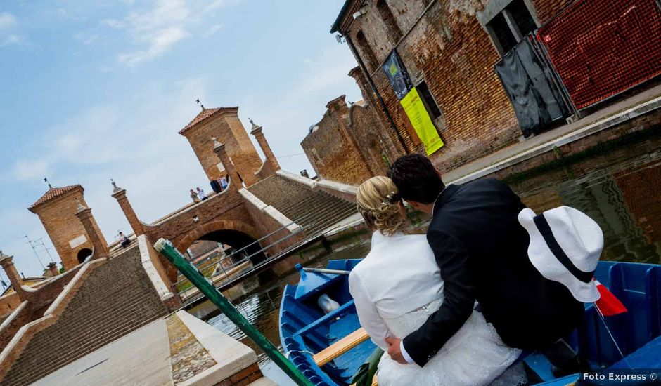 Il matrimonio di William e Melissa a Comacchio, Ferrara