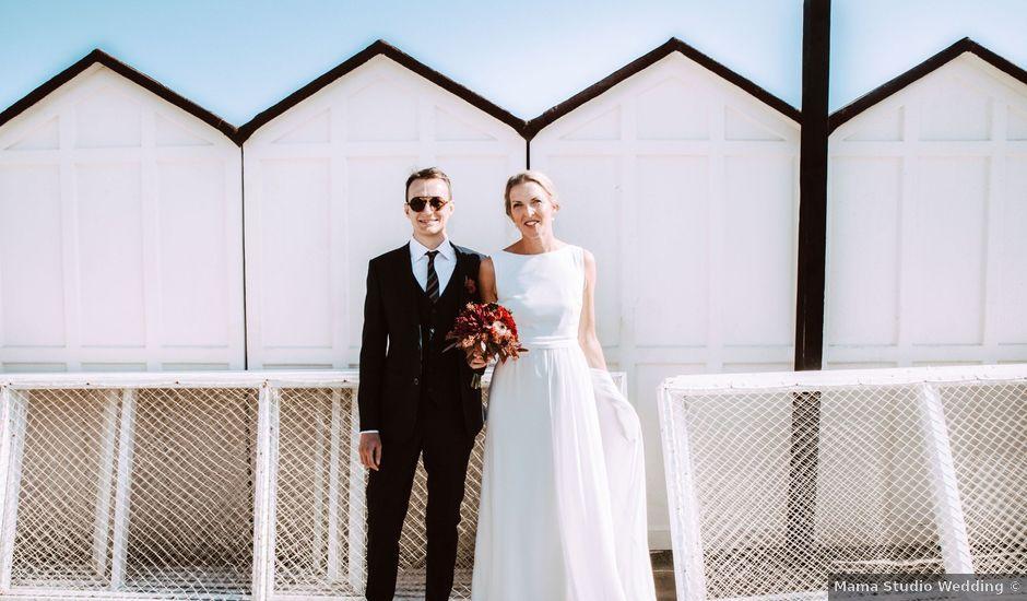 Il matrimonio di Davide e Hanna a Gradara, Pesaro - Urbino