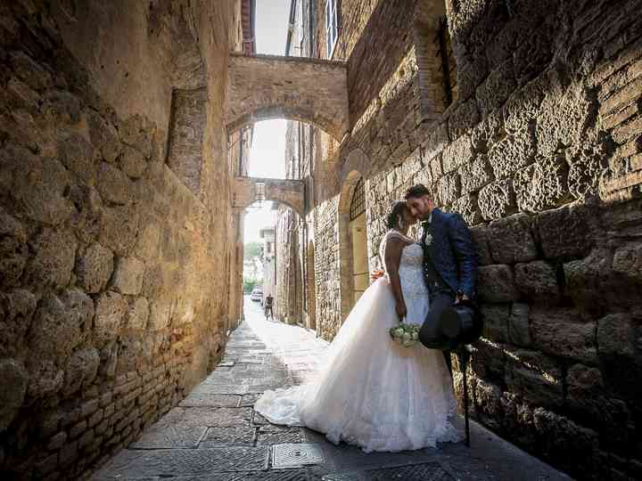 Le nozze di Mayelin e Pierluigi
