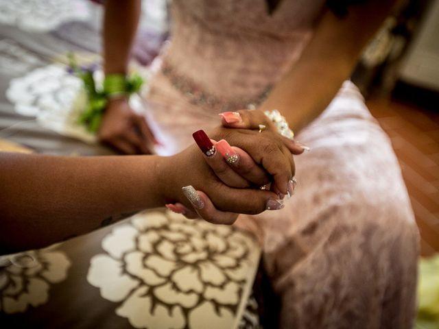 Il matrimonio di Pierluigi e Mayelin a San Gimignano, Siena 9