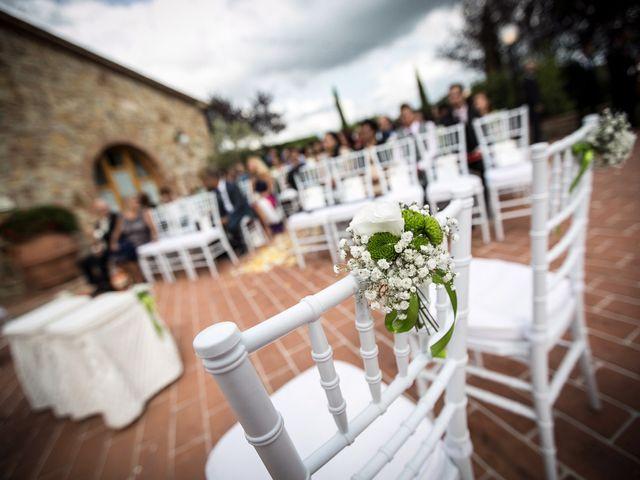 Il matrimonio di Pierluigi e Mayelin a San Gimignano, Siena 24