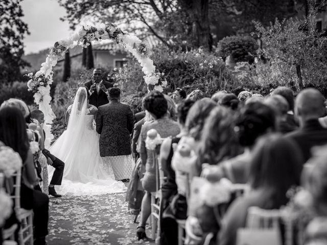 Il matrimonio di Pierluigi e Mayelin a San Gimignano, Siena 36