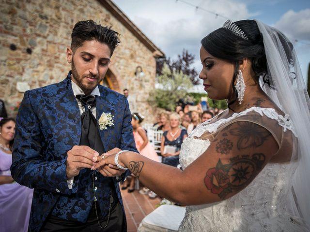 Il matrimonio di Pierluigi e Mayelin a San Gimignano, Siena 51
