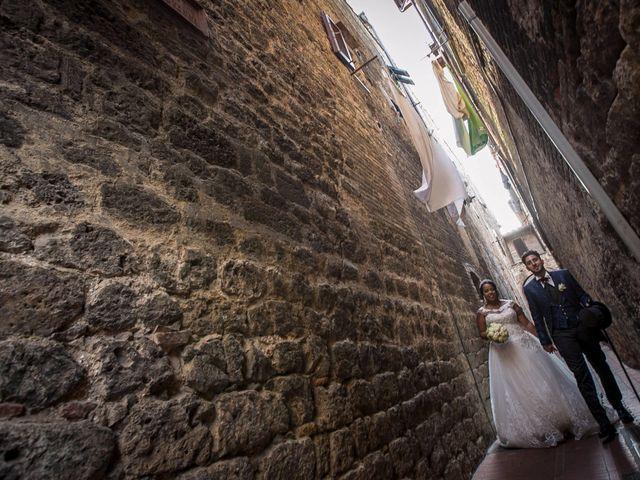 Il matrimonio di Pierluigi e Mayelin a San Gimignano, Siena 62