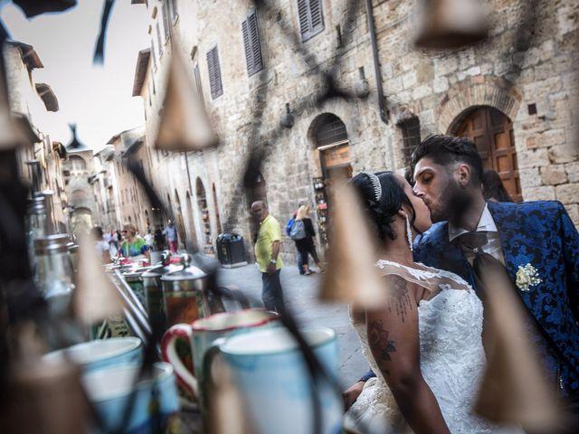 Il matrimonio di Pierluigi e Mayelin a San Gimignano, Siena 1