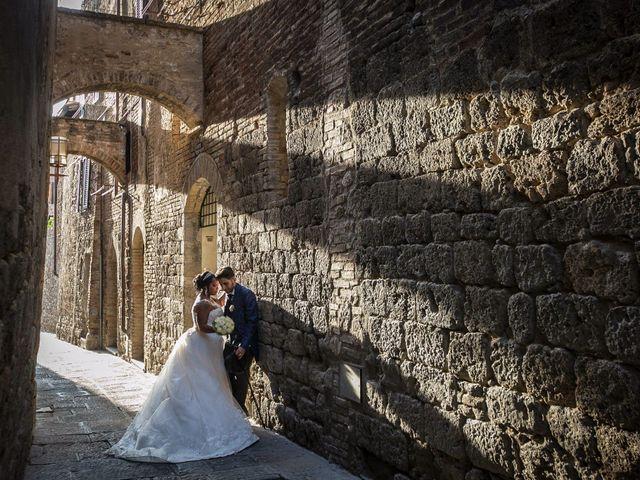 Il matrimonio di Pierluigi e Mayelin a San Gimignano, Siena 65