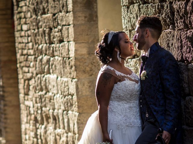 Il matrimonio di Pierluigi e Mayelin a San Gimignano, Siena 66