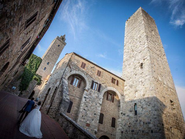 Il matrimonio di Pierluigi e Mayelin a San Gimignano, Siena 69