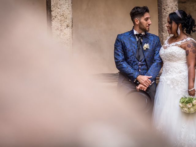 Il matrimonio di Pierluigi e Mayelin a San Gimignano, Siena 71