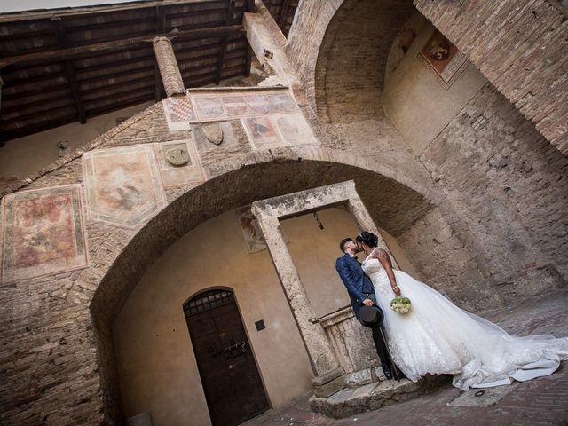 Il matrimonio di Pierluigi e Mayelin a San Gimignano, Siena 72