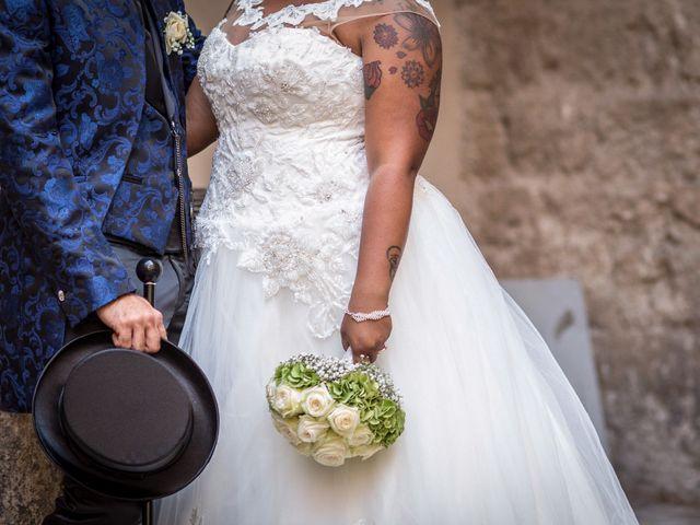 Il matrimonio di Pierluigi e Mayelin a San Gimignano, Siena 73