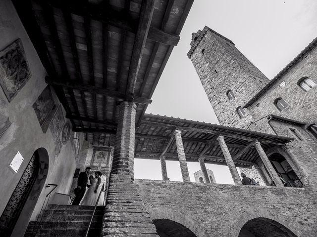Il matrimonio di Pierluigi e Mayelin a San Gimignano, Siena 74