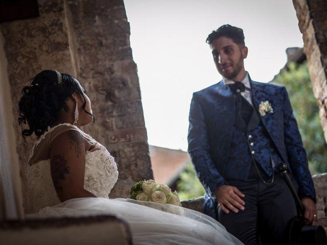 Il matrimonio di Pierluigi e Mayelin a San Gimignano, Siena 75