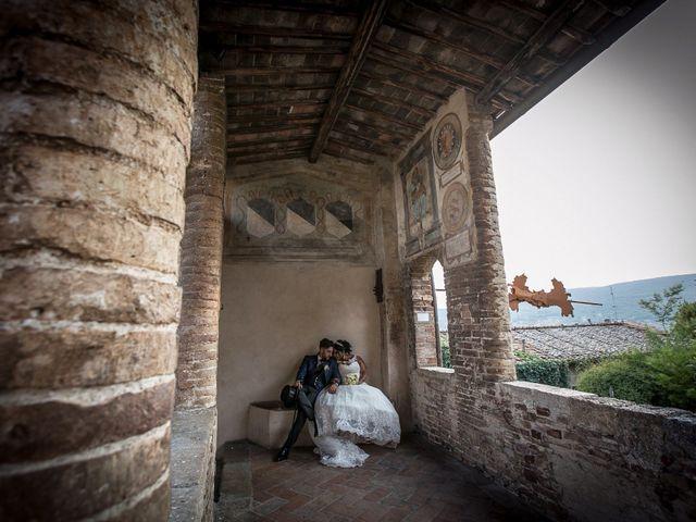 Il matrimonio di Pierluigi e Mayelin a San Gimignano, Siena 76