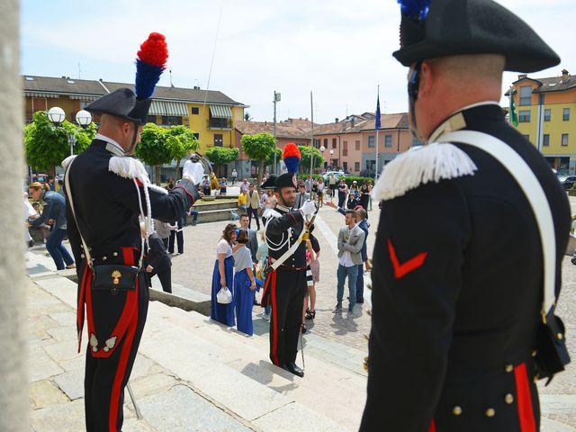 Il matrimonio di Massimiliano e Laira a Zelo Buon Persico, Lodi 21
