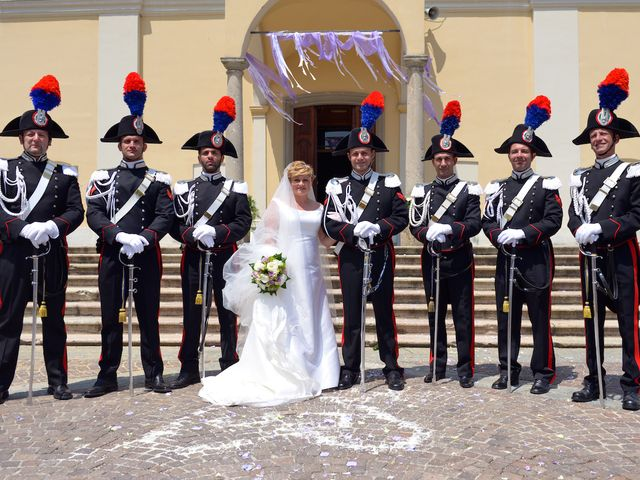 Il matrimonio di Massimiliano e Laira a Zelo Buon Persico, Lodi 51