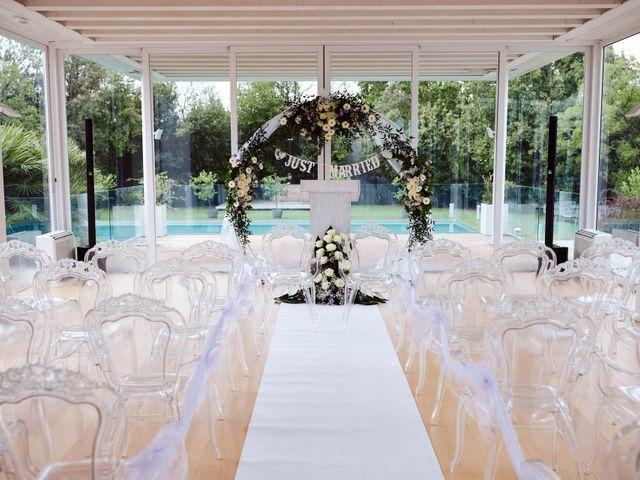 Il matrimonio di Marco e Kenana a Silea, Treviso 23