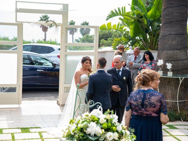 Il matrimonio di Sara e Daniele a Aci Castello, Catania 26