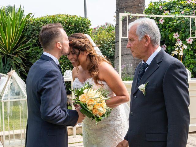 Il matrimonio di Sara e Daniele a Aci Castello, Catania 27