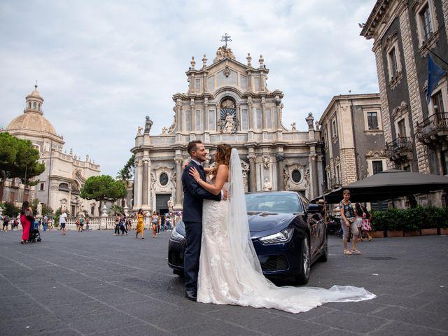 Il matrimonio di Sara e Daniele a Aci Castello, Catania 42