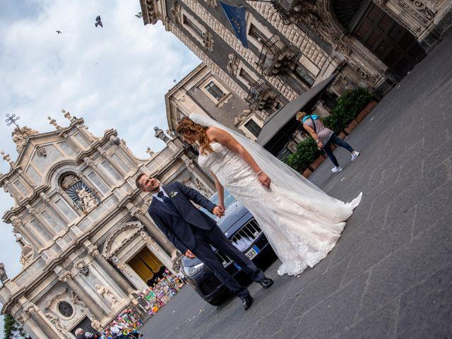 Il matrimonio di Sara e Daniele a Aci Castello, Catania 43