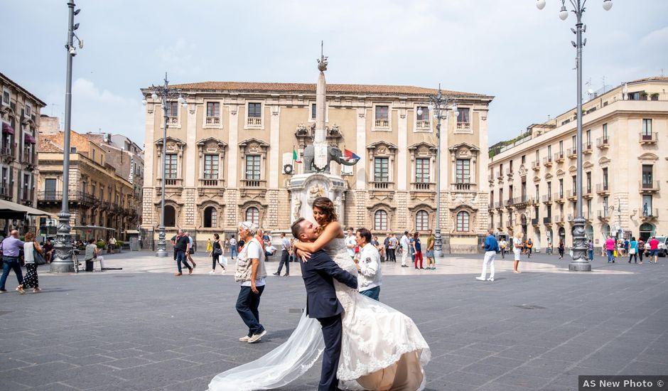 Il matrimonio di Sara e Daniele a Aci Castello, Catania
