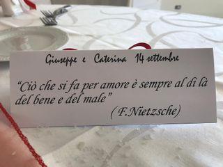 Le nozze di Caterina  e Giuseppe  3