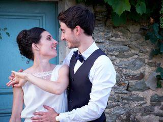 Le nozze di Sandrine e Cedric