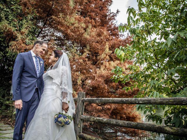 Le nozze di Fatima e Claudio