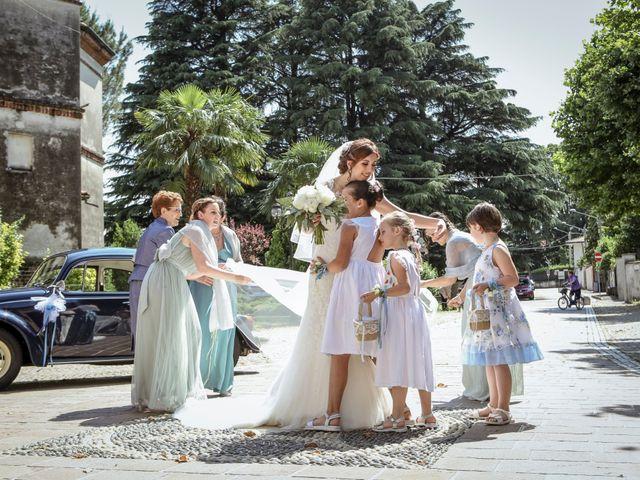 Il matrimonio di Fabio e Mary a Rovello Porro, Como 25